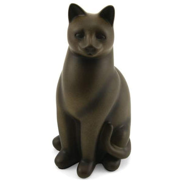 Elite Sitting Cat Urn