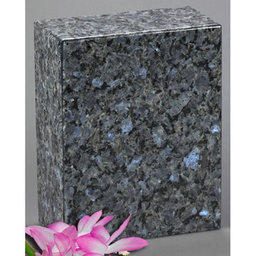 AEternitas Blue Pearl Granite Urn