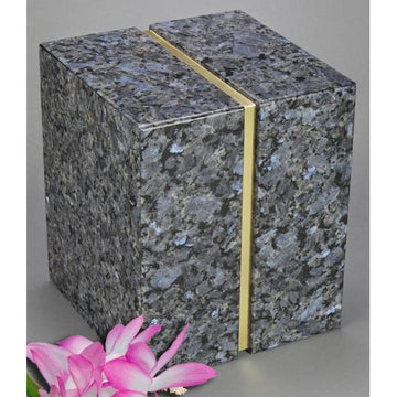AEternitas Blue Pearl Companion Granite Urn