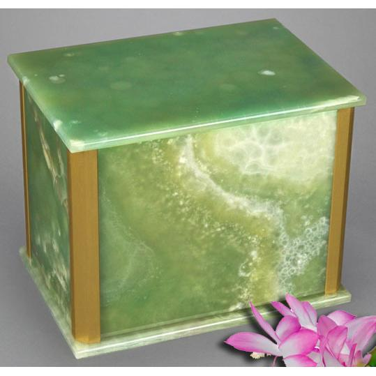 Solitude Green Onyx Companion Urn