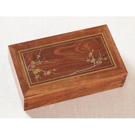 Cherry Blossom Rosewood Urn