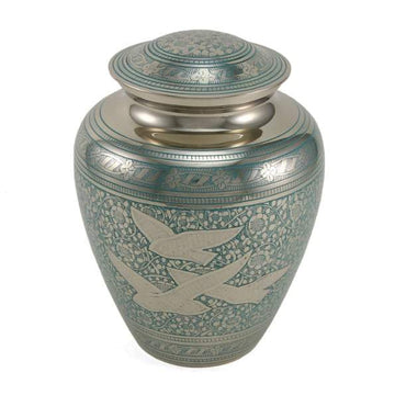 Going Home Elite Solid Brass Urn