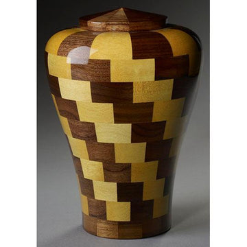 Steve Shannon Wood Infant Urn #1