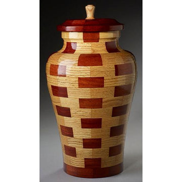 Steve Shannon Wood Adult Urn #3