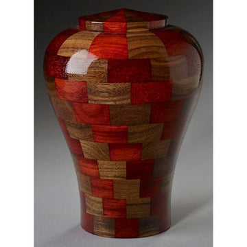 Steve Shannon Wood Infant Urn #6