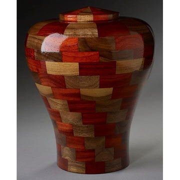 Steve Shannon Wood Adult Urn #6