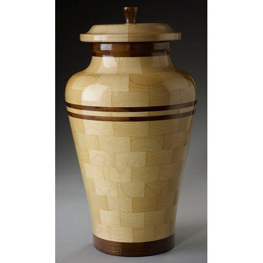 Steve Shannon Wood Adult Urn #10
