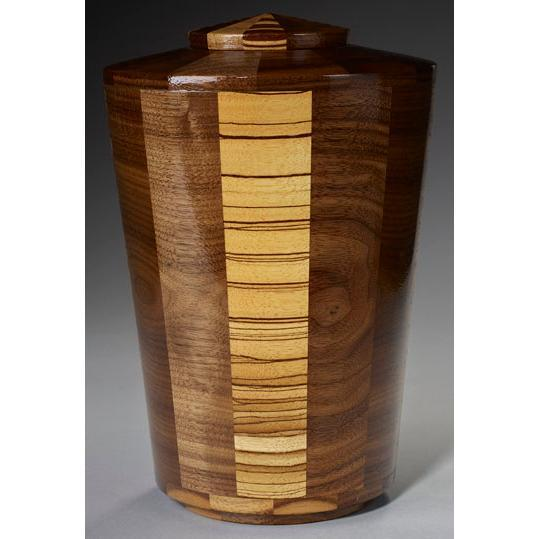 Steve Shannon Wood Adult Urn #11A