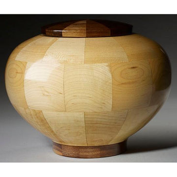 Steve Shannon Wood Adult Urn #12T