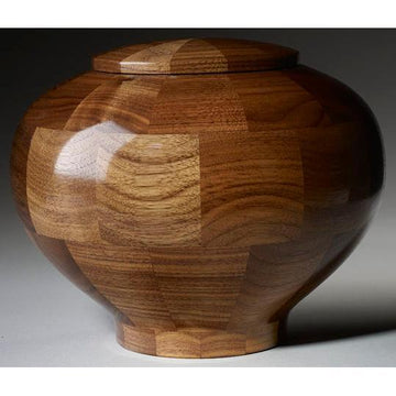 Steve Shannon Wood Adult Urn #12W