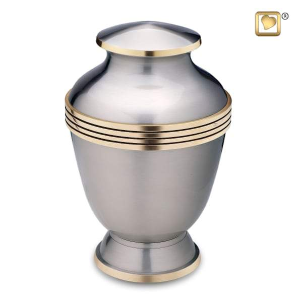 Imperial Pewter Brass Urn