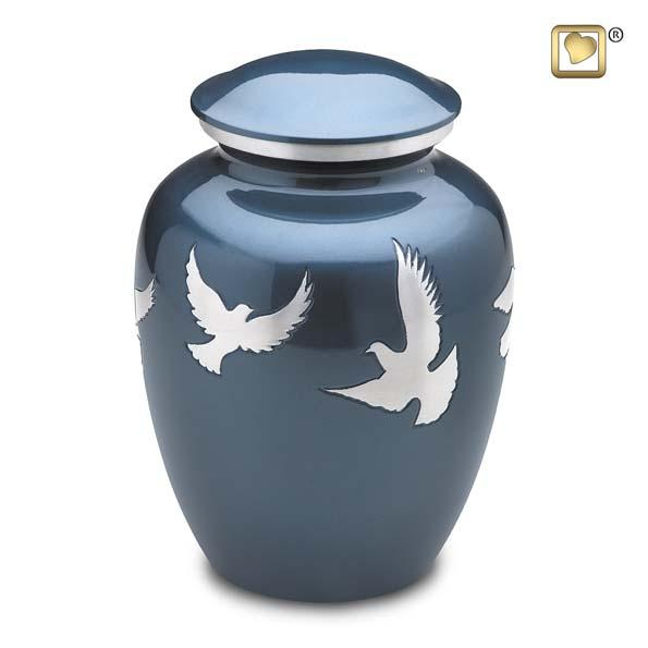 Flying Doves Urn