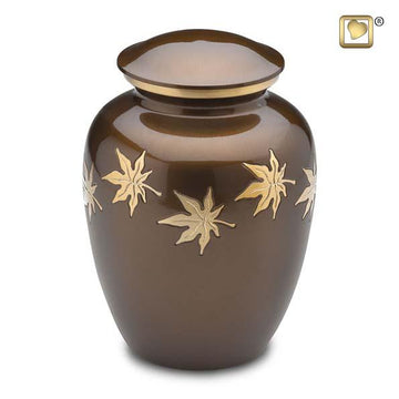Autumn Leaves Urn