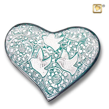 Going Home Heart Cremation Keepsake