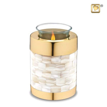 Mother of Pearl Tealight Urn