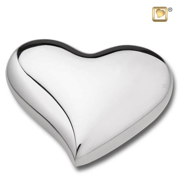 Heart Bright Silver Keepsake