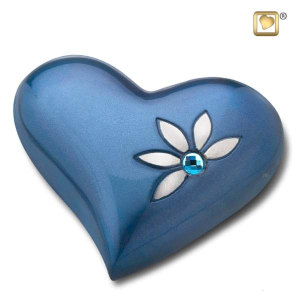 Heart Nirvana Azure Keepsake