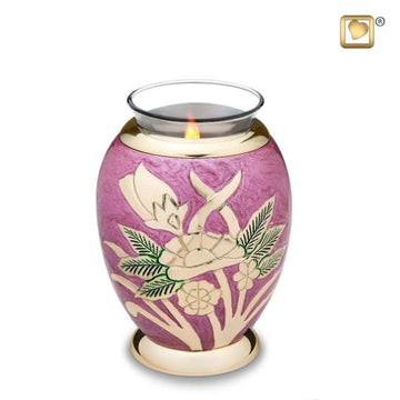 Lilac Rose Tealight