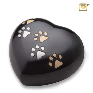 Heart Midnight Pet Urn