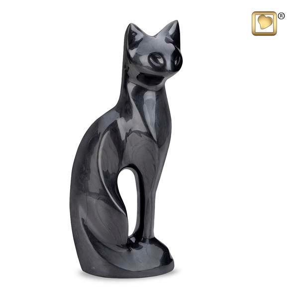Cat Urn Midnight