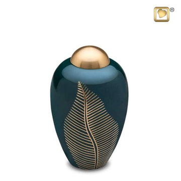 Elegant Leaf Pet Urn
