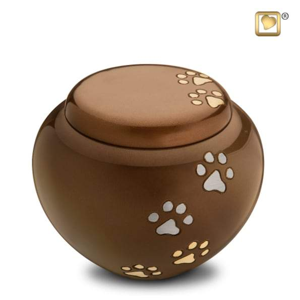 Bronze Cuddle Pet Urn