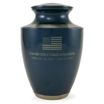 Trinity Moonlight Patriotic Urn