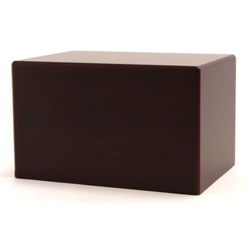 Box Urn in Cherry