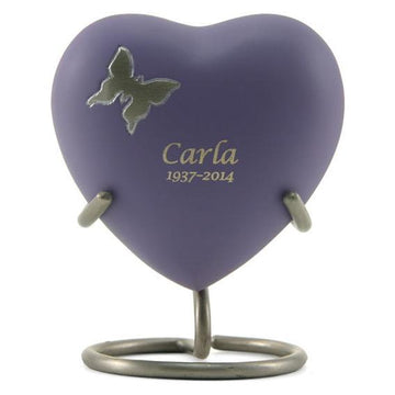 Aria Butterfly Heart Keepsake