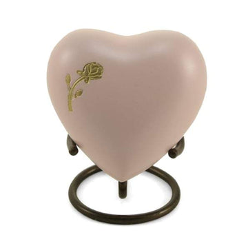 Aria Rose Heart Cremation  Keepsake