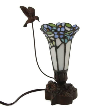 Blue Bouquet Lamp Keepsake