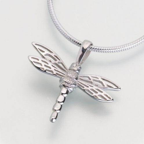 Small Dragonfly Keepsake Cremation Pendant