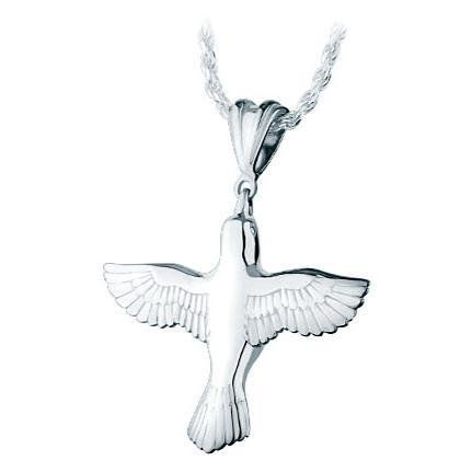 Peace Dove Keepsake Pendant
