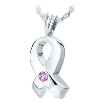 Large Ribbon Keepsake Pendant