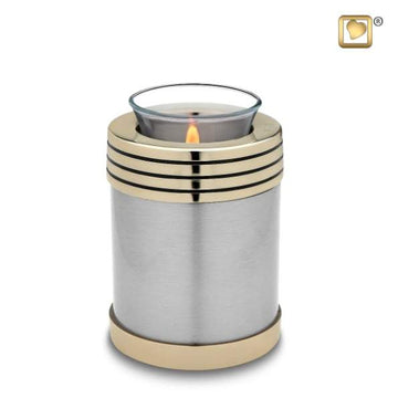 Tealight in Pewter
