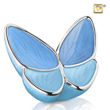 Adult Wings of Hope Blue Urn