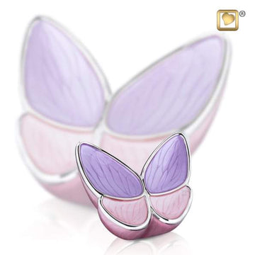 Keepsake Urn Wings of Hope Lavender