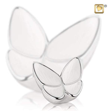 Keepsake Urn Wings of Hope Pearl