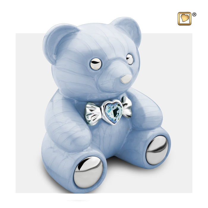 CuddleBear Blue Infant Urn