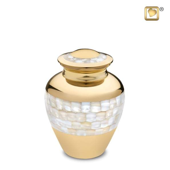 Mother of Pearl Infant Urn