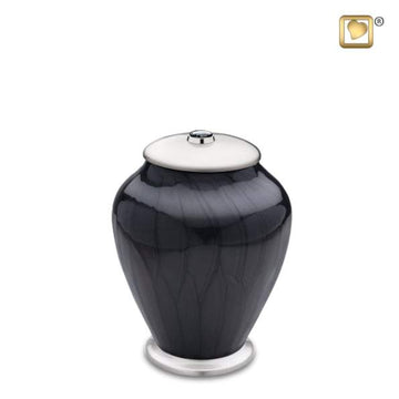 Tall Simplicity Midnight Pearl Infant Urn