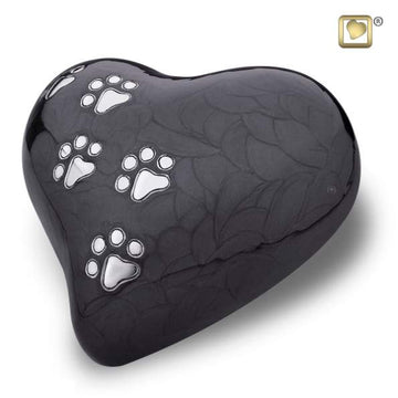 Heart Pet Pearlescent Midnight Urns