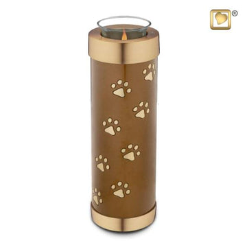 Tealight Pet Bronze Tall Urn