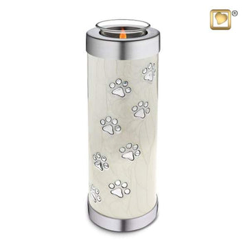 Tealight Pet Pearl Tall Urn