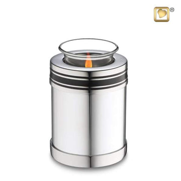 Art Deco Tealight Keepsake Urn