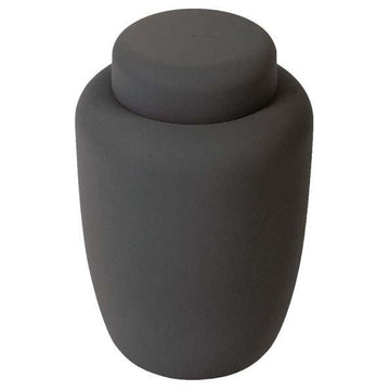 Black Cornstarch Biodegradable Urns