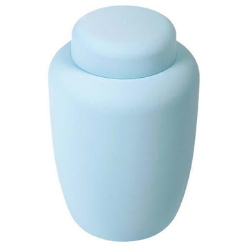 Pale Blue Cornstarch Biodegradable Urns