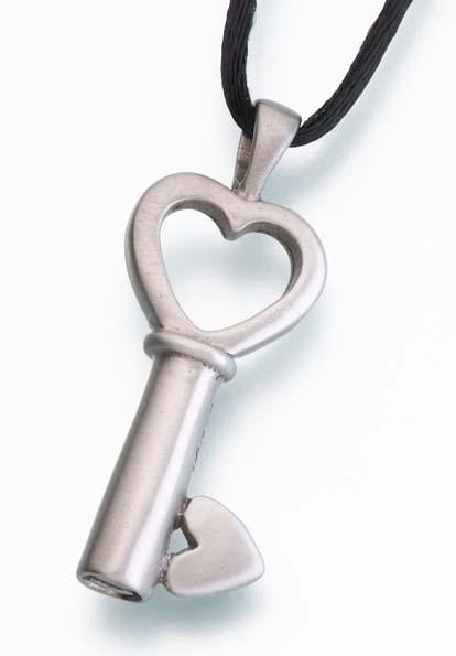 Key To My heart Bronze Pendant