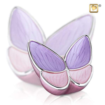 Infant Wings of Hope Lavender Urn