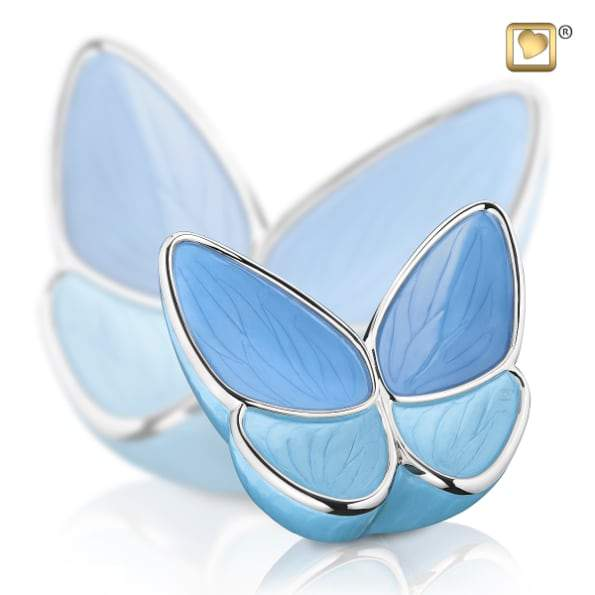 Infant Wings of Hope Blue Urn